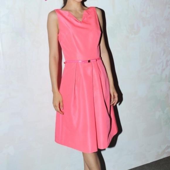 Ted Baker London Dresses & Skirts - Ted Baker bright pink Halina dress